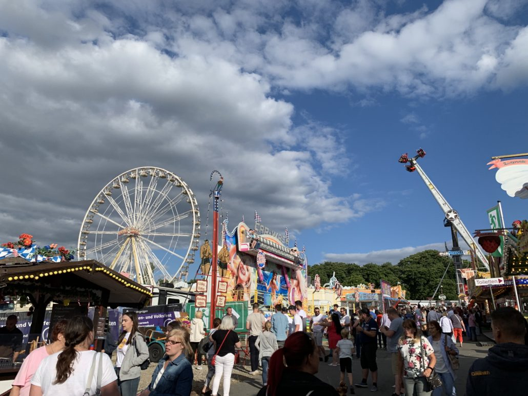 Riesenrad-Event in Goslar